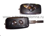 BMW  Выкидной ключ, EWS система, 3 кнопки, 433mhz
