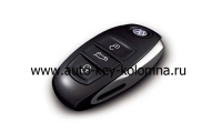 Volkswagen Touareg оригинальный смарт ключ - 433Mhz , (  Б/У  )