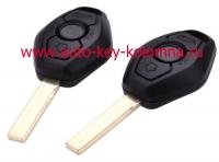 BMW 5 серии,  CAS 2, HU92 , 433 mhz , 3 кнопки, чип 7944