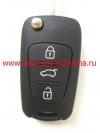 Выкидной ключ для KIA , oka-185t ,  433 мГц , 3 кнопки