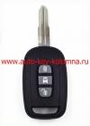 Ключ Chevrolet CAPTIVA, 3 кнопки, 7936, 433Мгц, DWO5, 2007 - 2008 , OKA-151T
