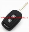 Ключ Chevrolet CAPTIVA, 2 кнопки, 7936, 433Мгц, DWO5, 2007 - 2008 , OKA-151T