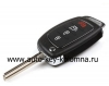 выкидной ключ Hyundai  , 4 кнопки, 433Mhz, OKA-865T (PB-TP), TX-6F
