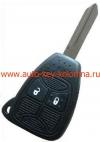 Ключ для  DODGE / CHRYSLER / JEEP , Чип PCF7941. Для рынка Европы,  2 кнопки,   433Mhz, модель  FCCID-M3N5WY72XX (2004-2007)