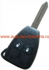Ключ ДЖИП, 2 кнопки, 433 Мгц, FCCID-M3N5WY72XX (2004-2007)