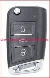 Ключ для SKODA , чип Megamos AES
